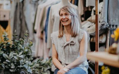 Passt Leinen Mode in einen Deko-Shop?