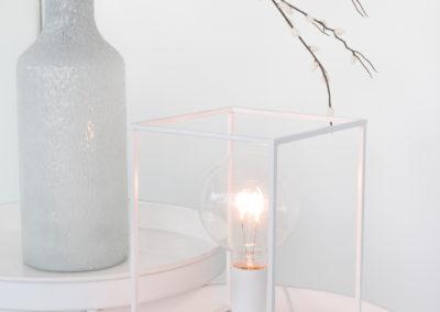 Vase aus Glas mit besonderer Struktur